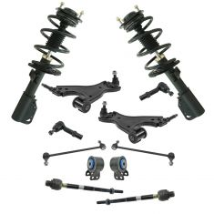 08-16 Buick Enclave; 09-16 Traverse; 07-16 Acadia Steering & Suspension Kit (12pcs)