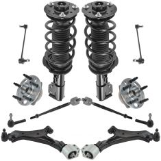 10-15 Chevy Equinox, GMC Terrain Steering & Suspension 2.4L Kit (12pcs)