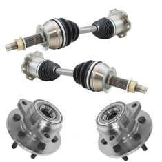 97-99 Dodge Dakota; 98-99 Durango 4WD Steering Kit (4pcs)
