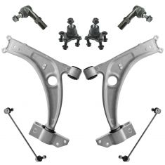 06-10 VW Passat; 09-14 CC Front Steering & Suspension Kit (8pcs)