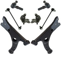 14-17 Toyota Corolla (US Model) Steering & Suspension Kit (8pcs)