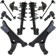 14-16 Toyota Corolla (US Model) Steering & Suspension Kit (10pcs)
