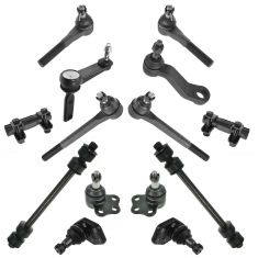 00-02 Dodge Ram 2500 3500 2WD Front Steering & Suspension Kit (14 Piece)