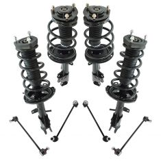 08-10 Toyota Highlander AWD Front & Rear Suspension Kit (8pcs)