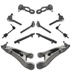 98-02 Ford Crown Victoria, Mercury Grand Marquis, Linc Towncar Steering & Suspnsion Kit (12pcs)