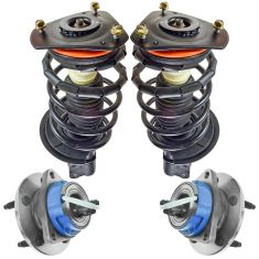 00-13 Chevy Impala; 00-07 Monte Carlo; 97-05 Buick Century; Regal Steering & Suspension Kit (4pcs)
