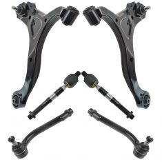 07-12 Hyundai Sante Fe; 11-13 Kia Sorento Steering & Suspension Kit (6pcs)