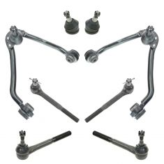 93-00 Chevy GMC Pickup SUV Van 2WD Steering & Suspension Kit (8pcs)