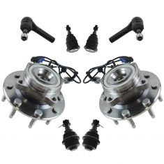 07-10 GM Full Size SUV & Truck Steering & Suspension Kit (8pcs)