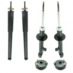 05-10 300; 06-10 Charger; 05-08 Magnum RWD Front & Rear Shock & Mount Kit (6pc)