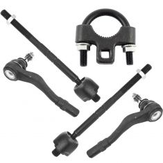 01-09 Mercedes Benz C, CLK Front Inner & Outer Tie Rod Kit Set of 4 w/ TR Tool