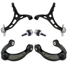 11-15 Durango, Grand Cherokee Front Upper & Lower Control Arm w/ Ball Joint Kit (Set of 6)