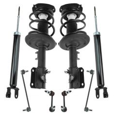 07-12 Nissan Altima Front and Rear Suspension Kit (8pc Set)