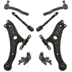 04-06 Camry, 04-06 ES330, 04-08 Solara Front Steering & Suspension Kit (8pc Set)