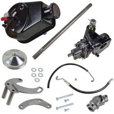 58-64 GM Cars w/Small Block Chevy Engine & w/Short Neck Water Pump Complete Pwr Stg Conversion Kit