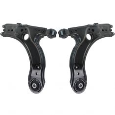 98-06 Volkswagen Jetta Beetle Golf Control Arm Front Lower PAIR (Dorman)