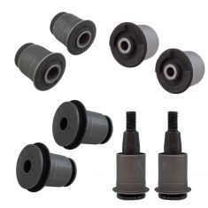 02-09 GM Mid Size SUV Front Upper & Lower Control Arm Bushing Kit (8 Piece Set) (Moog)