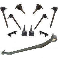 78-88 GM Mid Size Car w/RWD Front Steering w/Upper & Lower Balljoint Kit (11 Piece Set) (Moog)