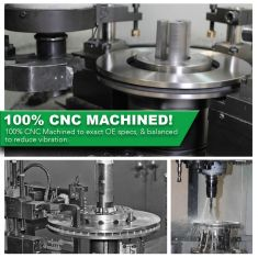 100% CNC Machined