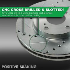 CNC Cross Drilled & Slotted