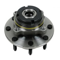 99 Ford Super Duty Truck SRW 4WD 2 Whl ABS Front Wheel Bearing & Hub Assy