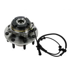 99 Ford Super Duty Truck SRW 4WD 4 Whl ABS Front Wheel Bearing & Hub Assy