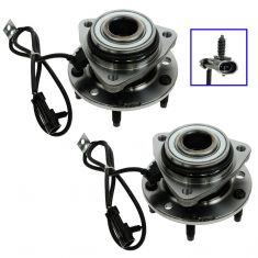 1997-05 S10 S15 Blazer Jimmy 4WD Front Hub Pair