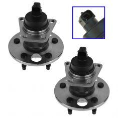 1991-04 GM Cars Rear Hub Bearing & ABS Sensor Pair