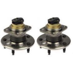 1991-99 Gm Fullsize Rear Hub Bearing & ABS Sensor Pair