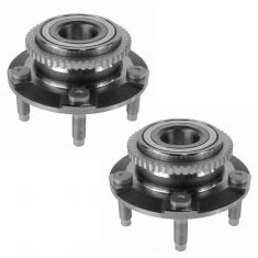 94-04 Ford Mustang Front Hub Bearing Pair With ABS