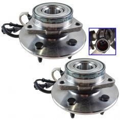1997-00 Ford Expedition Front Hub Bearing Pair 4x4