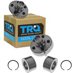 2002-05 Mercury Mountaineer Rear Hub Bearing Pair