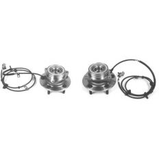 1994-99 Dodge Ram 1500 Front Hub Bearing Pair 4x4 With ABS