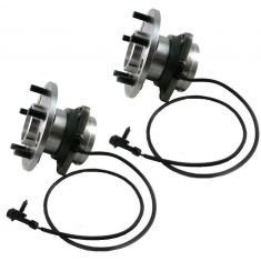 1990-94 Chevy Astro GMC Safari Van Front Hub Bearing Pair With AWD