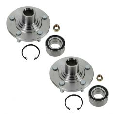 91-95 Ford Taurus Sable Front Hub & Bearing Pair
