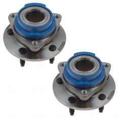 00-05 GM Midsize FWD Front Hub & Bearing w/o ABS Pair