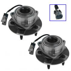 02-07 GM FWD Mini Vans w/ABS Front Hub & Bearing Pair