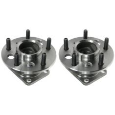 92-05 GM FWD Vans Cars Rear Hub & Bearing Pair