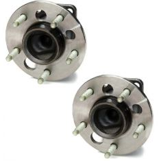 00-05 GM Mid Size FWD w/o ABS Rear Hub & Bearing Pair