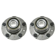 1991 Honda Accord SE Sedan w/ABS; 92-93 Accord Cpe & Sedan EX Rear Wheel Hub & Bearing PAIR