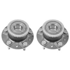 93-02 Mazda 626; 93-97 MX-6; 93-97 Ford Probe w/o ABS Rear Wheel Hub & Bearing PAIR