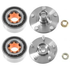 96-00 Toyota Rav4 Front Wheel Bearing & Hub Kit PAIR