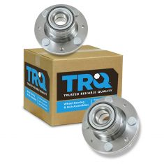 93-96 Dodge Colt, Summit Cpe & Sdn; 93-02 Mitsubishi Mirage w/o ABS Rear Wheel Hub & Bearing PAIR