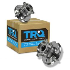 01-05 Toyota Rav4 w/4WD Rear Wheel Bearing & Hub PAIR