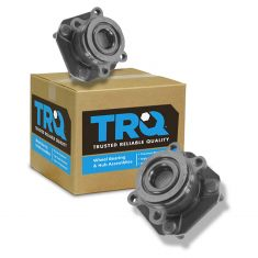 97-03 Toyota Rav4 w/2WD w/o ABS Rear Wheel Bearing & Hub PAIR