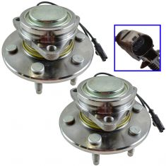 07-11 GM Full Size SUV PU 2WD Front Wheel Bearing & Hub PAIR