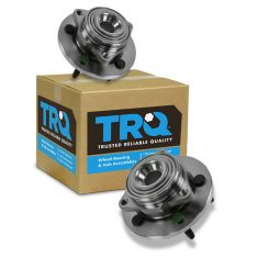 05-10 Dodge Dakota; 06-08 Mitsubishi Raider (w/Rear Wheel ABS) Front Wheel Bearing & Hub Pair