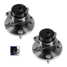 00-02 Toyota MR2 Spyder Front Wheel Bearing & Hub Assembly PAIR