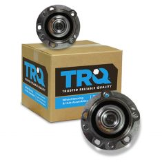 02-05 BMW 740i, 745Li; 06-08 750i, 750Li; 04-06 760i; 03-08 760Li Front Wheel Bearing & Hub PAIR