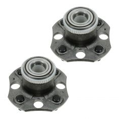 95-98 Acura TL w/2.5L Rear Wheel Bearing & Hub Assy PAIR